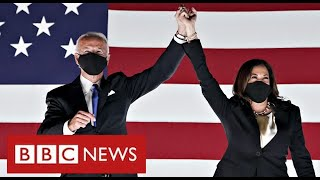 US Election:  Joe Biden on brink of victory - BBC News