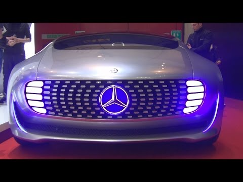 Mercedes-Benz F 015 Luxury in Motion (2016) Exterior and Interior in 3D
