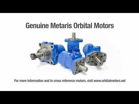 Orbital Motors - Low Speed High Torque - Hydraulic