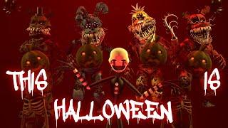 [FNAF SFM] This Is Halloween Marilyn Manson Cover