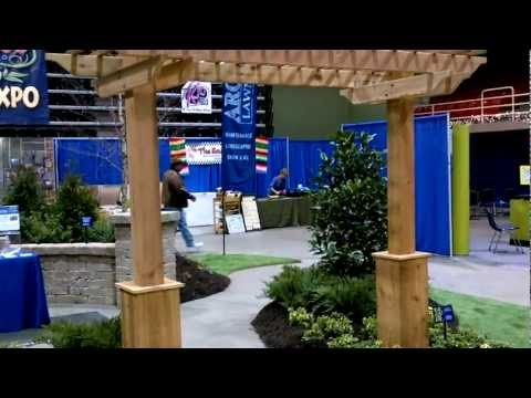 Virtual Tour Of The 2012 KQ2 Home, Flower, Lawn, & Garden Expo Booth