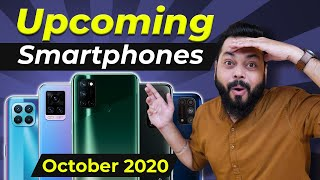 Top 10+ Best Upcoming Mobile Phone Launches ⚡⚡⚡ October 2020