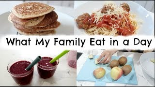 WHAT MY FAMILY EAT IN A DAY | ALL DAY FAMILY MEAL IDEAS | AD | KERRY WHELPDALE