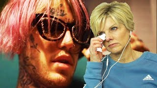 Mom Reacts to Lil Peep -- 16 Lines (Official Video)