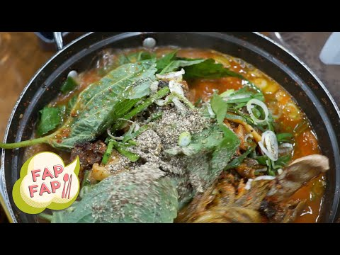 Gamjatang - Korean Pork Bone Stew