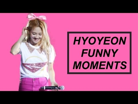 Hyoyeon Funny Moments