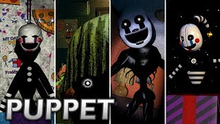 Evolution of Puppet in FNAF (2014-2017)