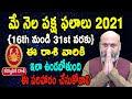 May Rasi Phalalu   16th May to 31st May   Karkataka Rashi 2021   Nanaji Patnaik   Pooja Tv Telugu