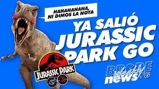 Ya salió JURASSIC PARK GO