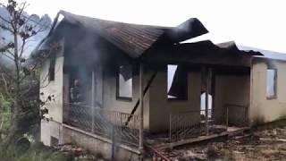 Incêndio destrói casa em Coronel Pilar