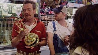 """Breaking Bad"" stars team with Julia Louis-Dreyfus in Emmy parody"
