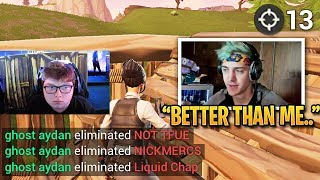 Ninja in DISBELIEF When Console Player DESTROYS PC Players! (Game 6 Full Match Highlights)