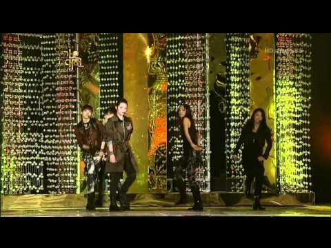091229 SBS f(x)&Kara  RingDingDong SpecialStage