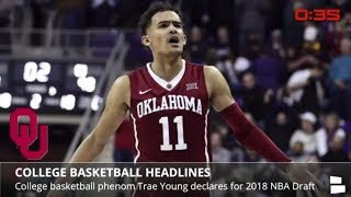 LeBron's historic triple-double, Heat top Nuggets in 2OT, Trae Young declares for 2018 NBA Draft
