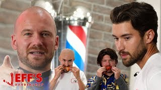Hot Ones host Sean Evans replaces Jeff from Jeffs Barbershop