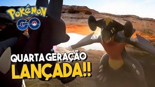 QUARTA GERAÇÃO CHEGA AO POKÉMON GO! NOVOS RECURSOS EM BREVE!!