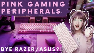 Affordable Pink Gaming Peripherals - An Unboxing Review and Lazada / Shopee Haul | Manic Pixie Dani