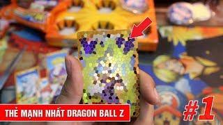 Mở ra thẻ hiếm mạnh nhất Dragon Ball Z - Săn ngọc rồng Xuxifarm tập 1