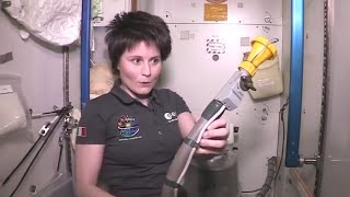 How Astronauts Use The Bathroom