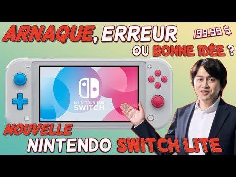 Nouvelle Switch Lite à 199.99€ | Arnaque, Erreur ou Bonne idée ? Explications.