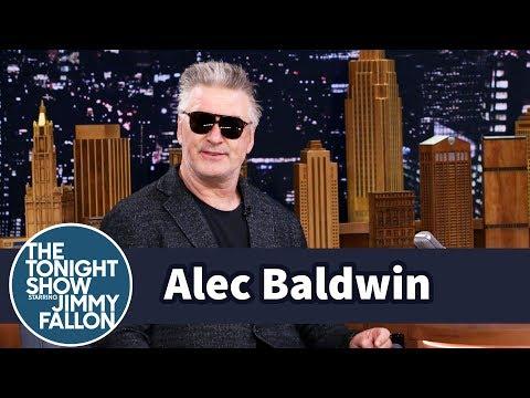 Alec Baldwin Teaches His Daughter His Donald Trump Impression