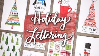 Holiday Letter with Me!   Handmade Card Ideas!