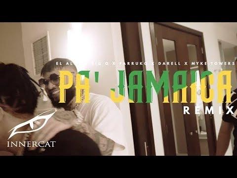 El Alfa x Farruko x Darell x Myke Towers x Big O - Pa Jamaica (Remix)