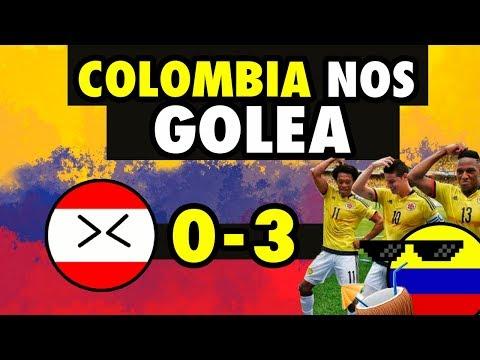PERU VS COLOMBIA (0-3) AMISTOSO  2019 - GOLEADOS ANTES DE LA COPA AMÉRICA 2019