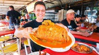 Big Fish Head Curry Tour - MALAYSIAN STREET FOOD in Kuala Lumpur, Malaysia!