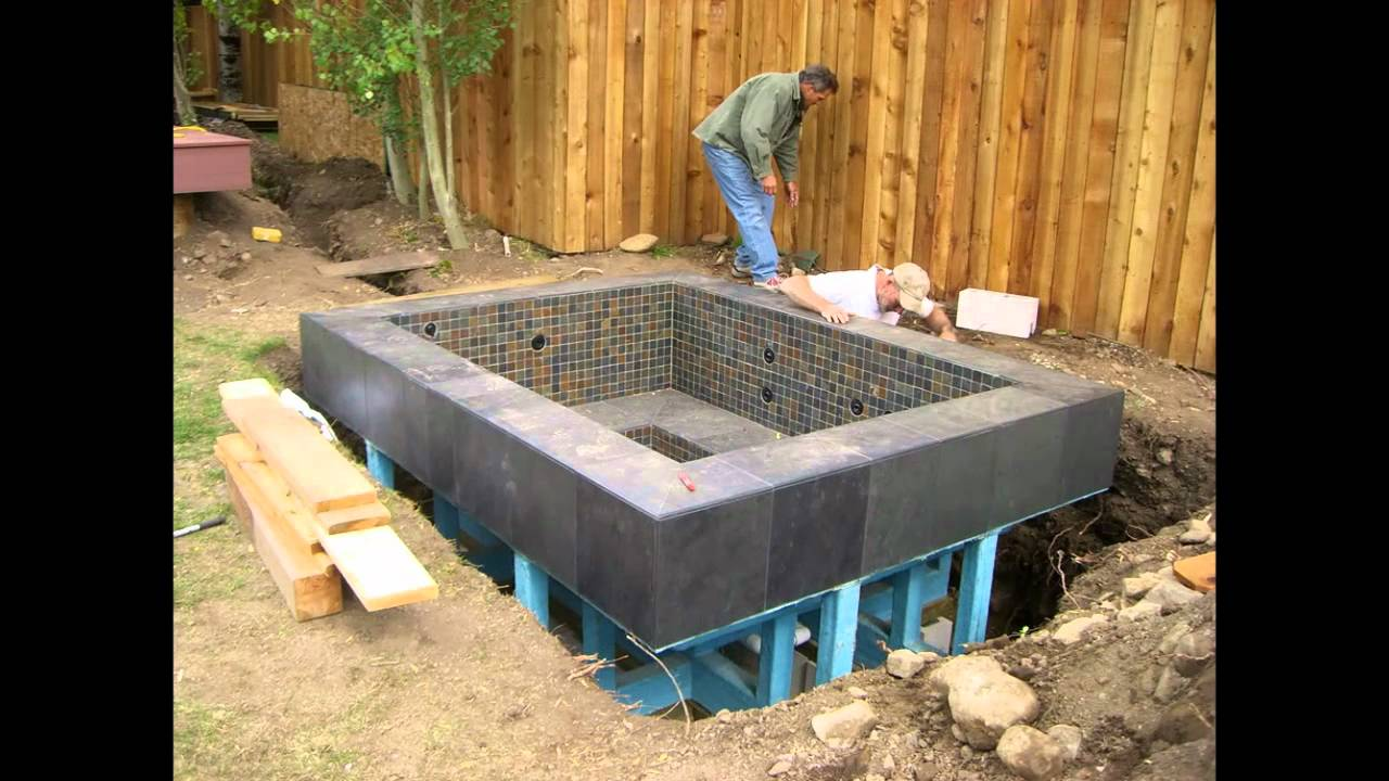 9 6 Quot X7 6 Quot Nespa All Tiled In Ground Hot Tub Spa Www