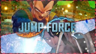 THIS IS SO AMAZING | Practice battles in Jump Force! Open Beta