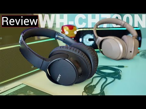 video Sony WH-CH700N Wireless Headphones: A Complete Review