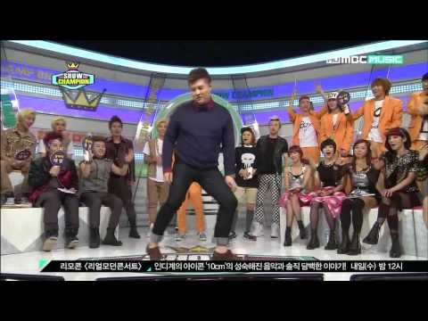 [HD][121113] MBC Show Champion Dance Battle+ Aegyo battle -BlockBAP cut