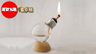 Cara Membuat Lampu Hias Dari Botol Bekas · Kerajinan Tangan Dari Lampu  Bohlam Bekas 4de0743bad