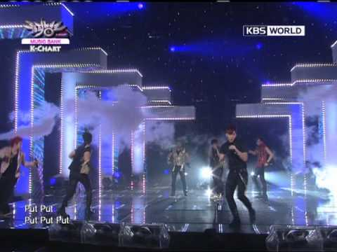 [Music Bank K-Chart] 3rd week of July & 2PM - Hands Up (2011.07.15)