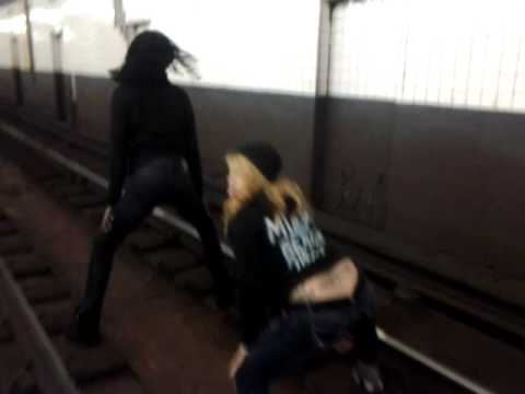 The Last Place You Want To Twerk: On The Subway Tr