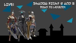LIVE: Road to legend league! + explaining every fighting style! | Shadow Fight 3 easter marathon
