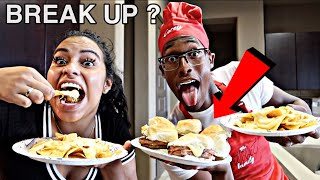 COOKING WITH COREY, WHY DID WE BREAK UP ?
