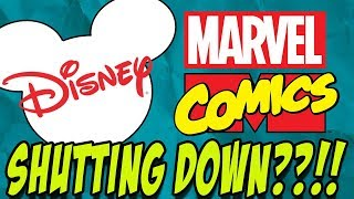 The Truth About Disney Shutting Down Marvel Comics