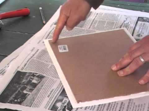 Mounting Paintings On Gessoed Paper Or Unstretched Canvas
