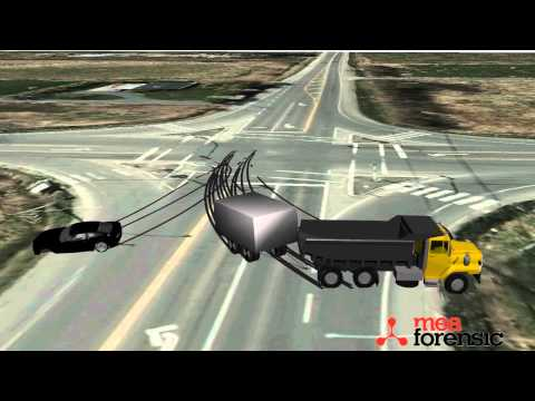 Heavy Truck Accident Collision Reconstruction -  MEA Forensic