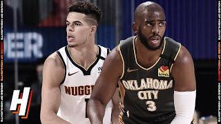 Denver Nuggets vs Oklahoma City Thunder - Full Game Highlights | August 3, 2020 | 2019-20 NBA Season