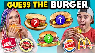 Guess Which Burger Is The Impossible Burger Challenge | People Vs. Food