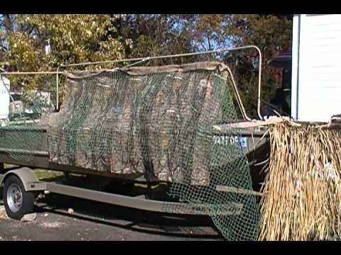 Duck Blind Build Youtube