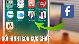 Cách thay đổi hình icon trên điện thoại cực chất - Way to change to characteristic icon on the phone