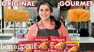 Pastry Chef Attempts to Make Gourmet Hot Pockets | Gourmet Makes | Bon Appétit