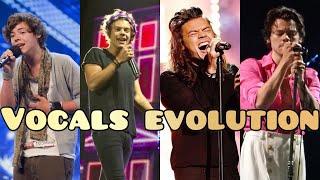 Harry Styles vocals evolution (2009 - 2020)