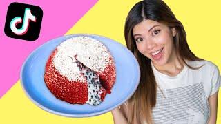 I tried an EASY Tik Tok Lava Cake Hack..... umm