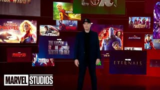MARVEL PHASE 5 FULL SLATE REVEAL | All Trailer Footage and Announcements Disney Investors Day