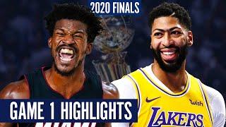 HEAT vs LAKERS GAME 1 - Full Highlights | 2020 NBA Finals